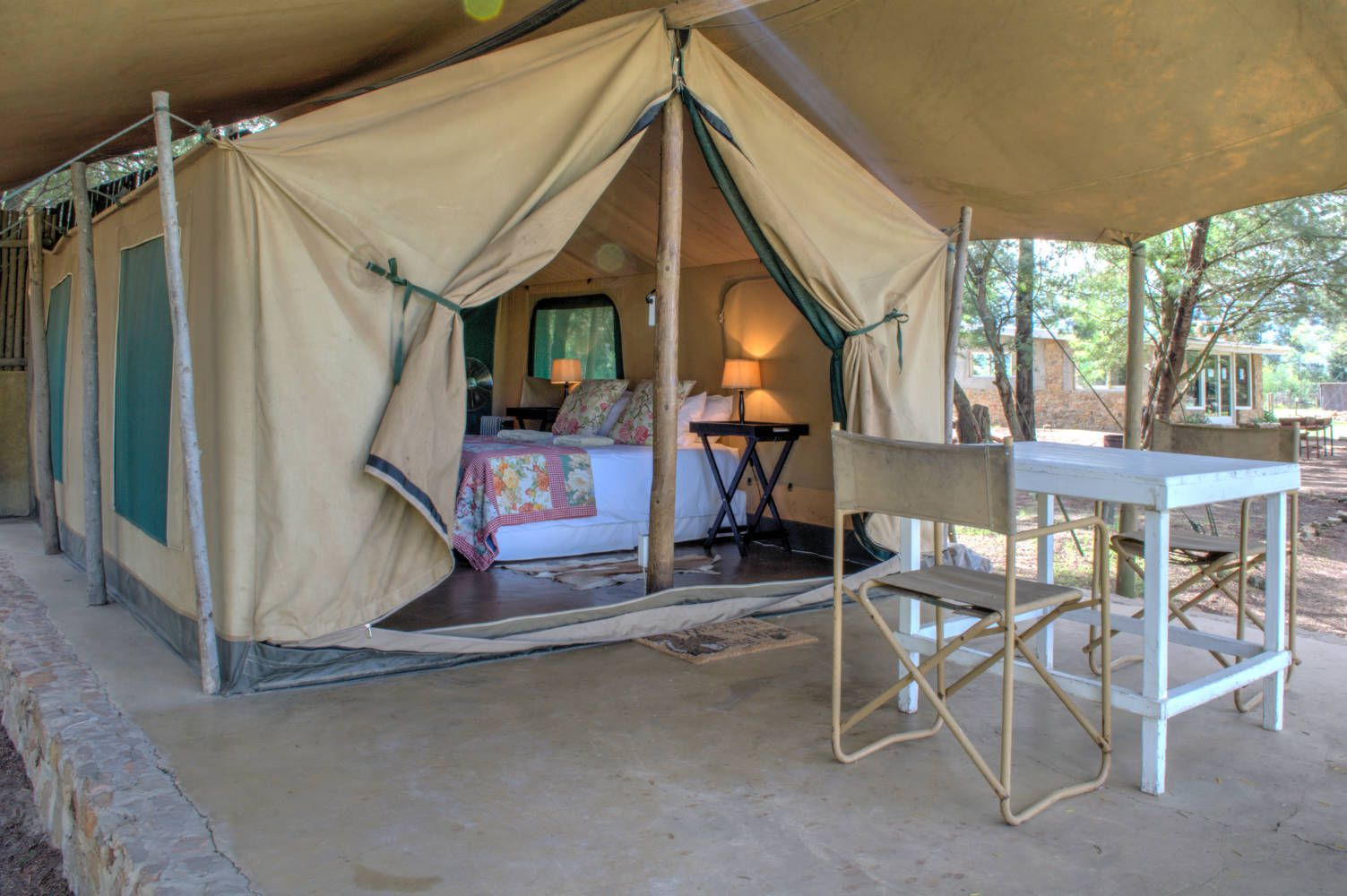 Oewerzicht - Tented Accommodation - Overberg