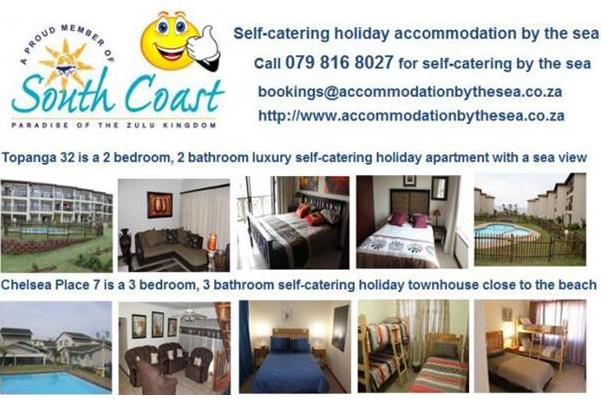 Accommodation By The Sea - KZN South Coast