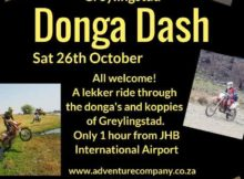 Greylingstad Donga Dash 2019 - The Adventure Company