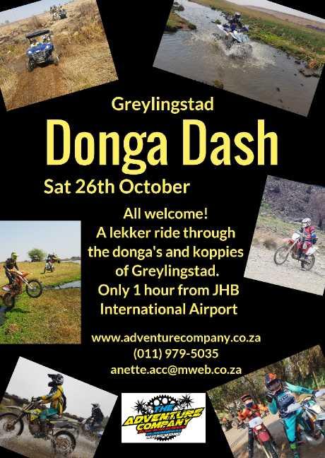 Greylingstad Donga Dash 2019