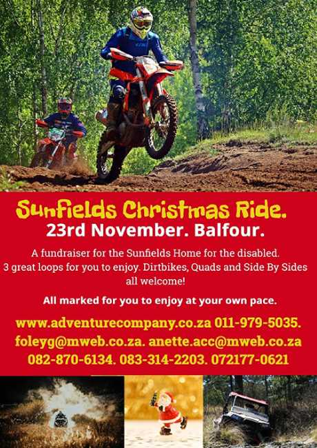 Sunfields Christmas Ride 2019